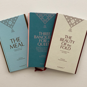 On the Table Series: / Three Banquets for a Queen / Edited by Charlotte Birnbaum