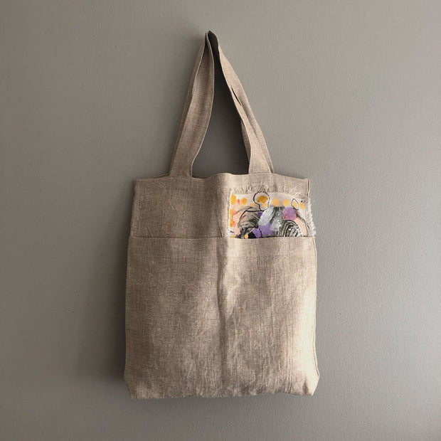 Natural Market Tote / Garden Fence
