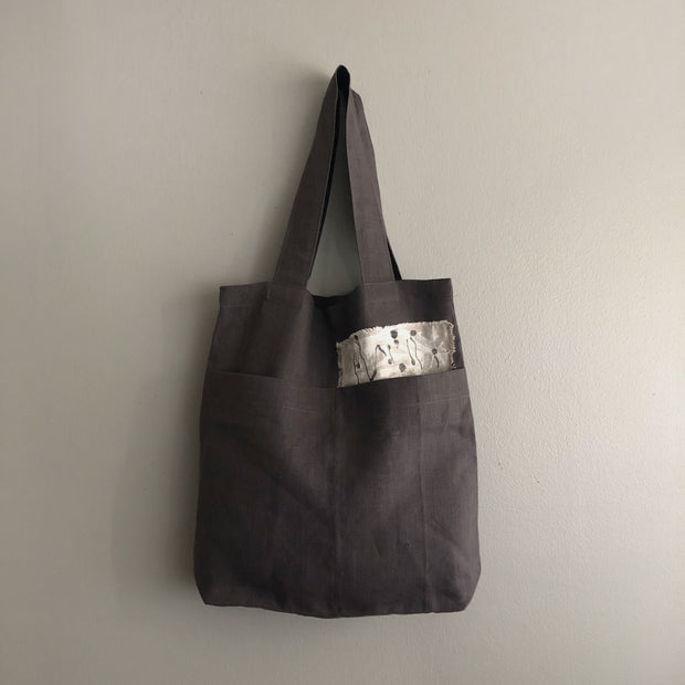 Slate Market Tote / Up and Down