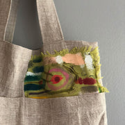 Natural Market Tote /  Bull's Eye