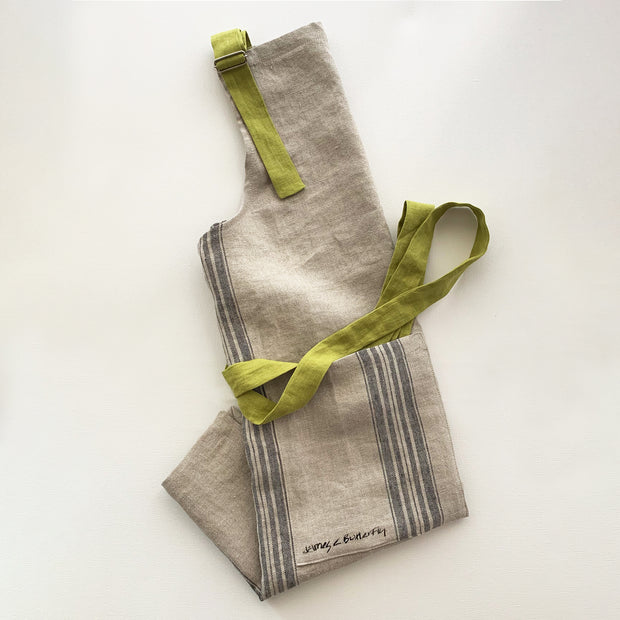Cafe Apron Pear Green