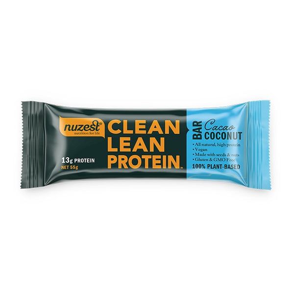 Nuzest: Clean Lean Protein Bar - Cacao Coconut (box of 12)