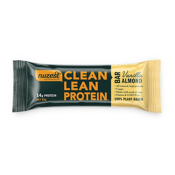 Nuzest: Clean Lean Protein Bar - Vanilla Almond (box of 12)