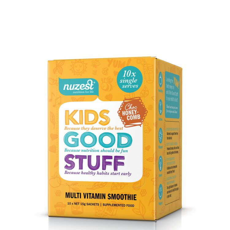Nuzest: Kids Good Stuff - Choc Honeycomb
