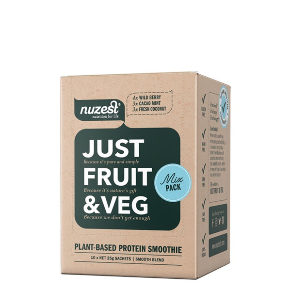 Nuzest: Just Fruit & Veg - Mixed Box