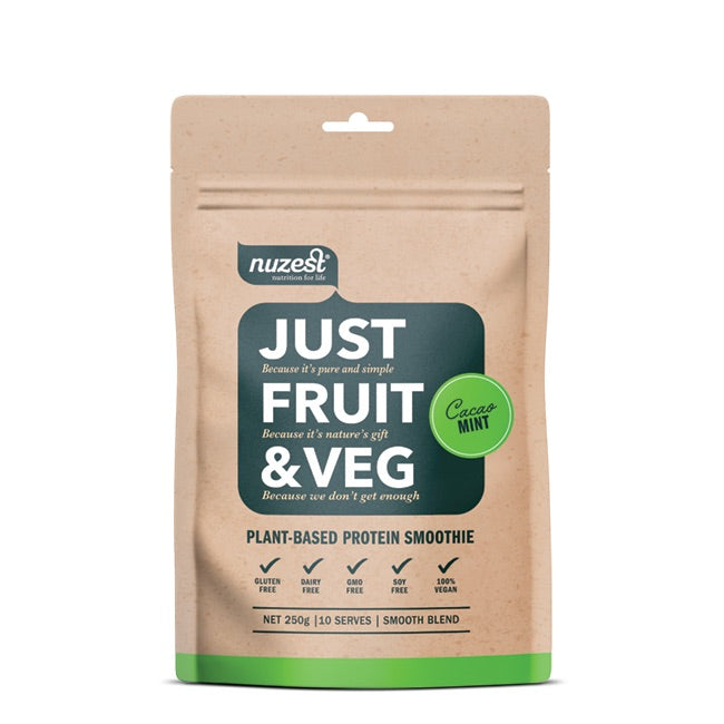 Nuzest: Just Fruit & Veg - Cacao Mint