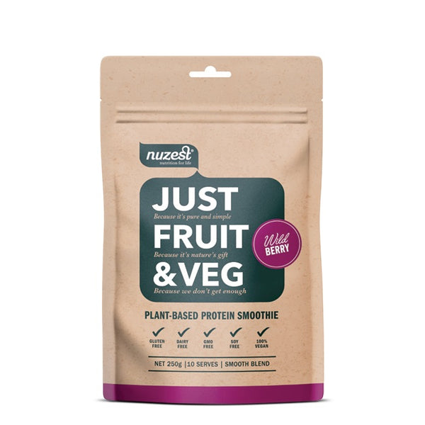 Nuzest: Just Fruit & Veg - Wild Berry