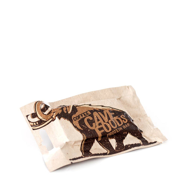 Cave Foods: Coffee Protein Bar (box of 12)