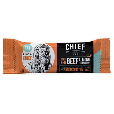 Chief Meat Bar - Beef & Chilli (box of 15)