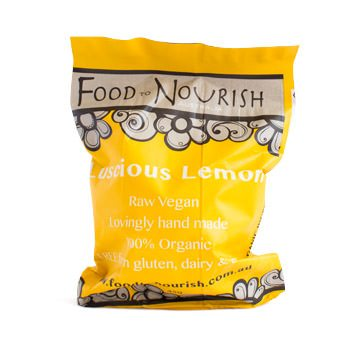 Food To Nourish: Bliss Balls - Luscious Lemon (12 balls)