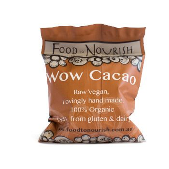 Food To Nourish: Bliss Balls - Wow Cacao (12 balls)