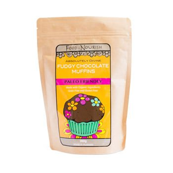 Food To Nourish: Fudgy Chocolate Muffin Mix