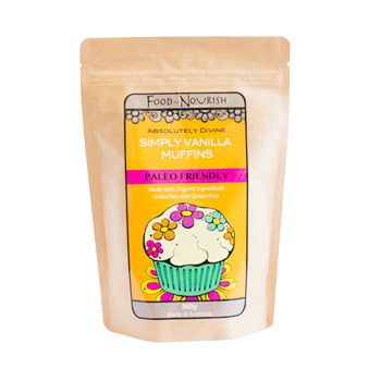 Food To Nourish: Simply Vanilla Muffin Mix