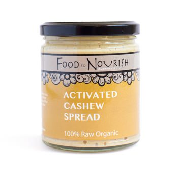Food To Nourish: Nut Butter - Activated Cashew