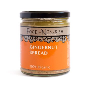 Food To Nourish: Nut Butter - Gingernut