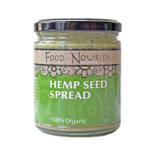 Food To Nourish: Nut Butter - Hemp Seed