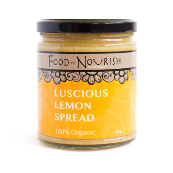Food To Nourish: Nut Butter - Luscious Lemon