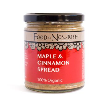 Food To Nourish: Nut Butter - Maple & Cinnamon