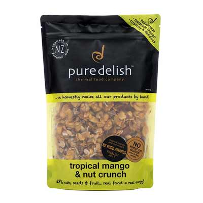 Pure Delish: Tropical Mango & Nut Crunch