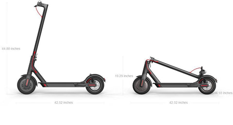 Mi Electric Scooter dimensions
