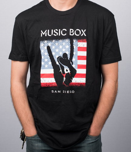 USA Flag Men's T-Shirt