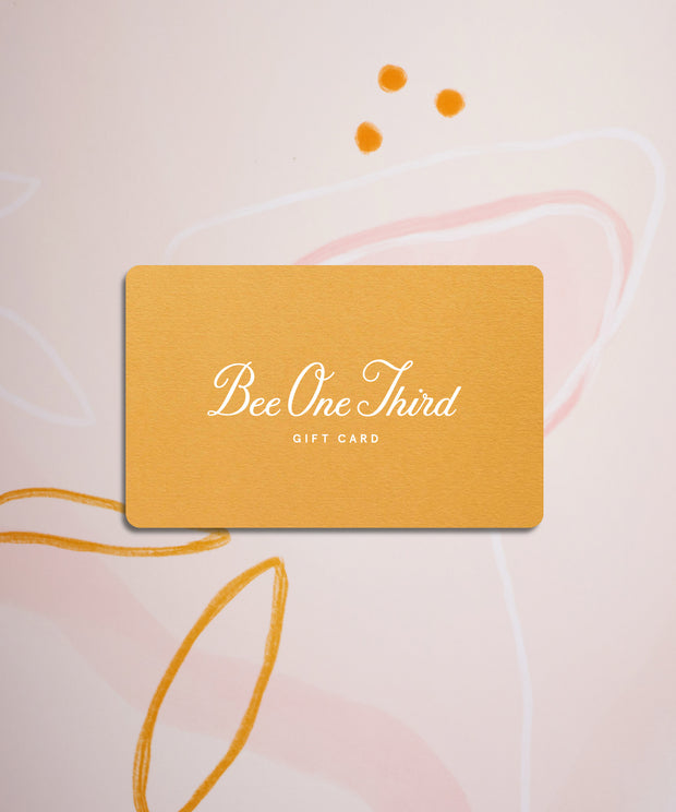 Bee One Third Gift Card