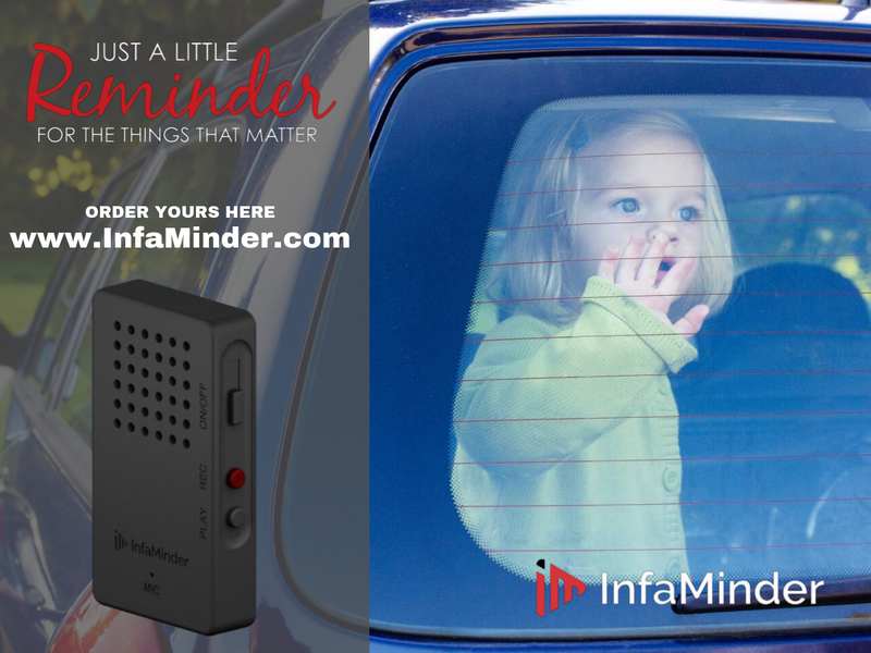 InfaMinder Corp Releases New Car Device that Saves Lives of Children and Pets