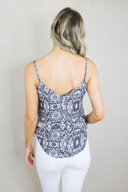 Aiden Snake Print Cami back view