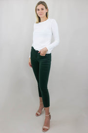 L'AGENCE Margot High Rise Skinny front view, full body