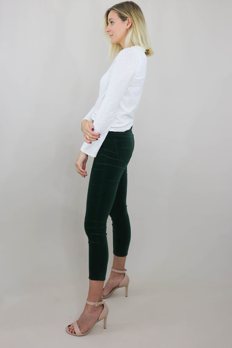 L'AGENCE Margot High Rise Skinny side view