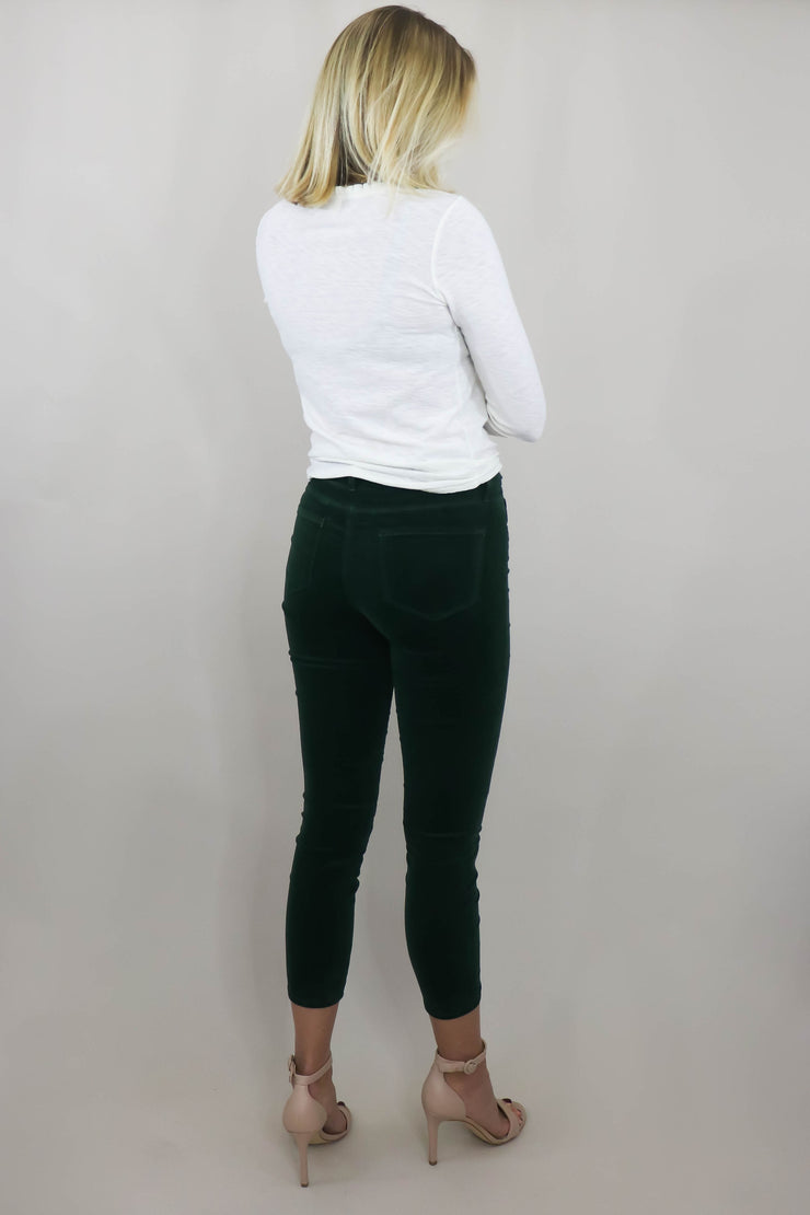 L'AGENCE Margot High Rise Skinny back view