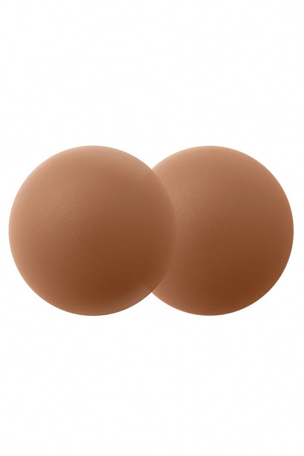 Image of B-SIX Nipple Covers-Size 1 Coco against white background