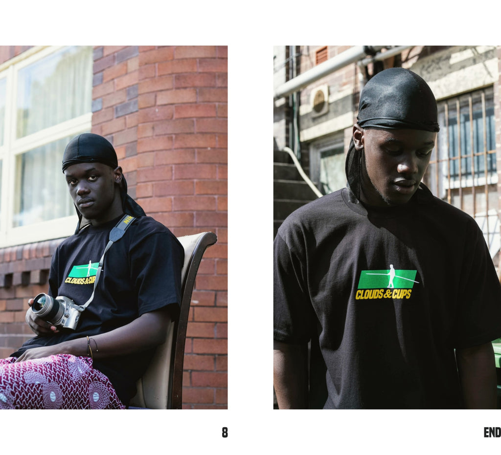 Black Tightrope Tee Lookbook