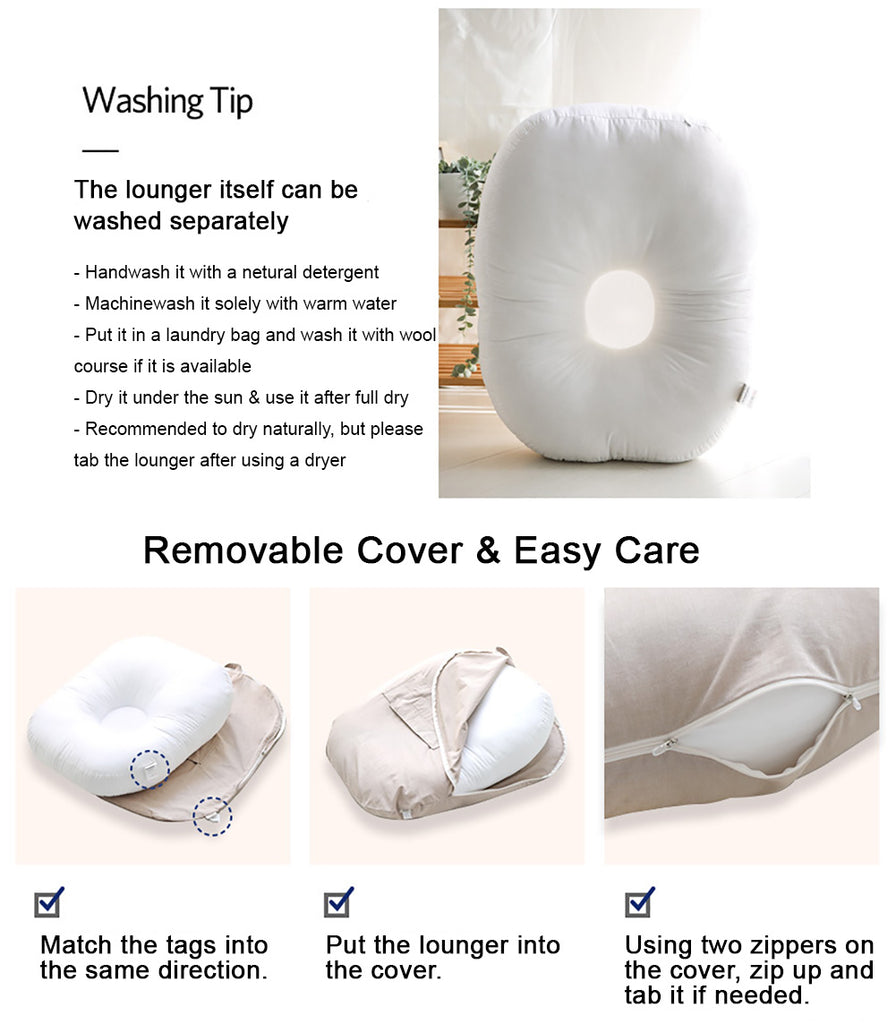 Baby Lounger washing tips