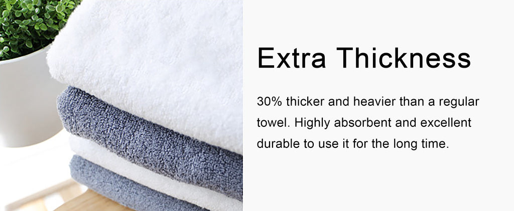 Extra Thicker Bamboo Baby Towel