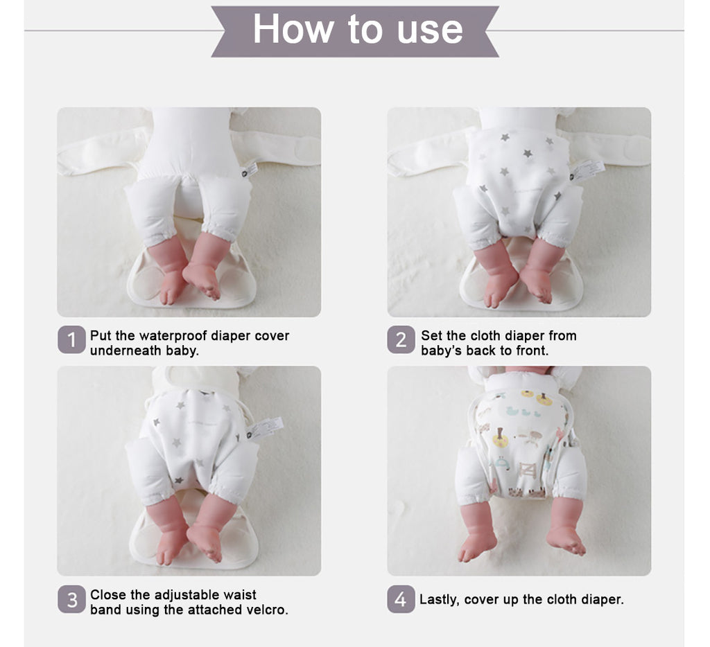 How to use Cloth Diaper Cover