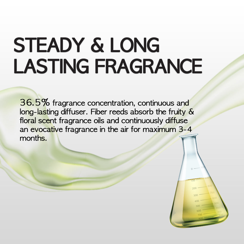 steady and long lasting diffuser fragrance scented