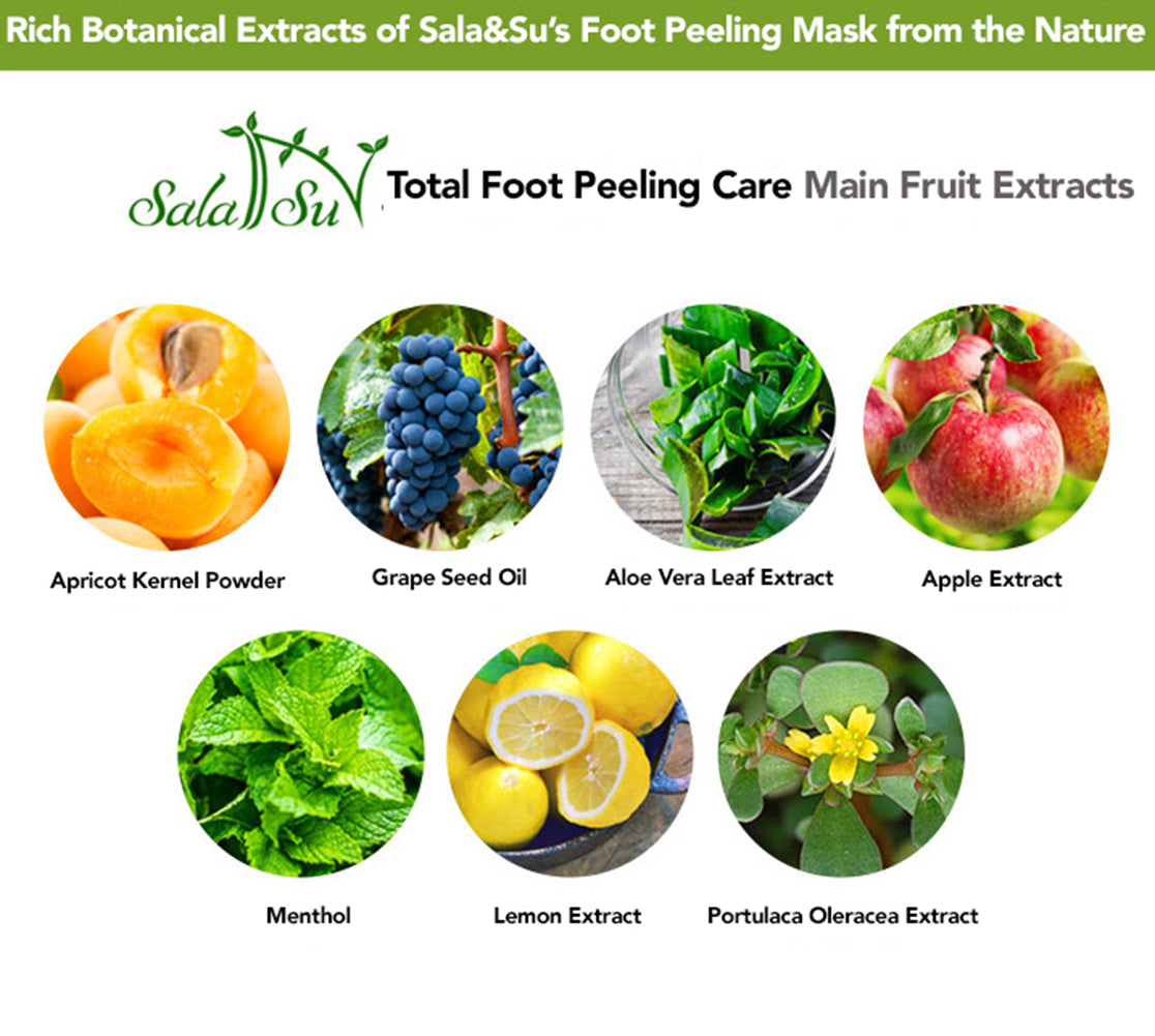 Sala&Su Foot Peeling Mask Product Description 5
