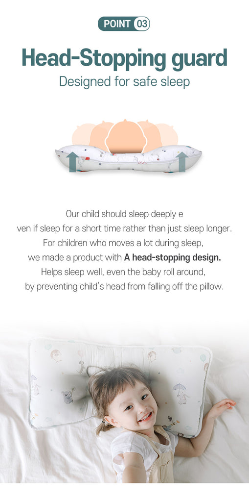 Baby side cushion pillow