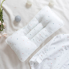 Double Pillow Colorful Dot