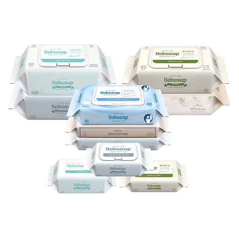 Essential Baby Wipes Bundle Set B (468 Count, 10 Pack)