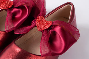 Big Bow Love Flats