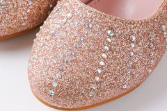 Low Heel Sparkling Mary Jane