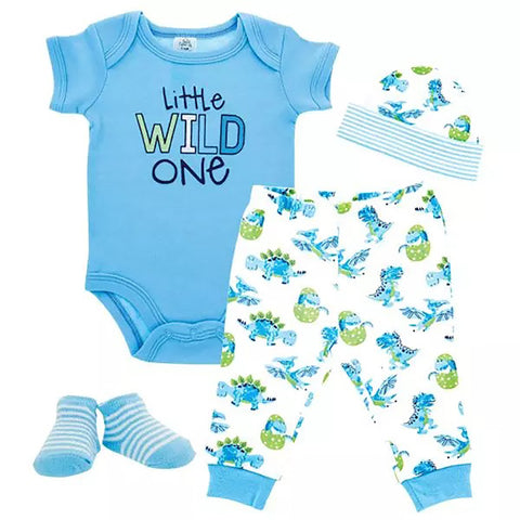 Little Wild One Baby Clothing Set