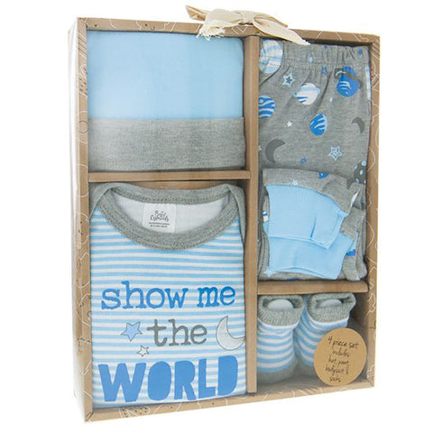 Show Me The World Baby Clothing Set