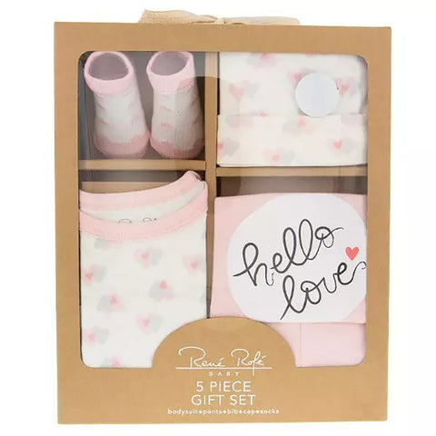 Hello Love Baby Clothing Set