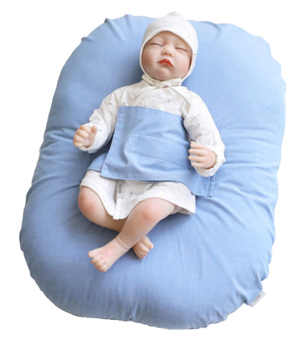 Baby Blue Baby Lounger