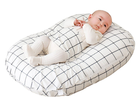 Plaid Baby Lounger