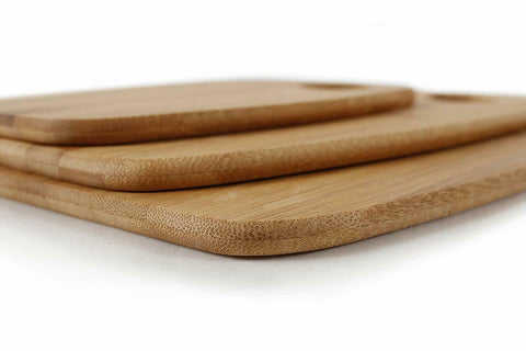 Bamboo Cutting Board Set (Set of 3)