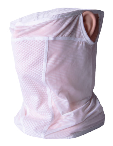 Neck Gaiter Bandana Face Mask (White)